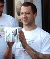 Мобильная новость - Покупатели стекаются в Apple Store - iPhone 4S поступил в продажу
