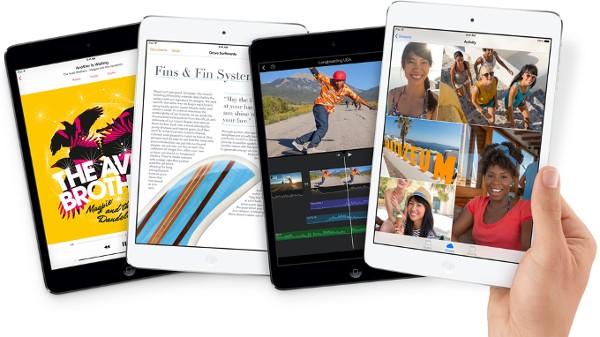 Мобильная новость - Apple iPad mini 2 наконец здесь: 64-разрядный чип A7 и Retina дисплей