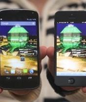 Мобильная новость - LG Nexus в сравнении с iPhone 5