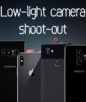 Мобильная новость - Битва камер Samsung Galaxy S9 +, iPhone X, Pixel 2 XL и Galaxy Note 8 в условиях низкой освещенности