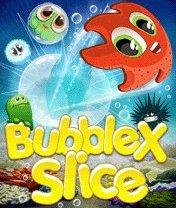 Скачать бесплатно игру Bubble X Slice - java игра для мобильного телефона. Скачать Ломтик пузыря Икс