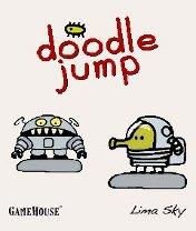 Скачать бесплатно игру Doodle Jump Deluxe - java игра для мобильного телефона. Скачать Прыгающие человечки: Делюкс