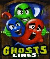 Скачать бесплатно игру Ghosts lines - java игра для мобильного телефона. Скачать Призрачные шарики
