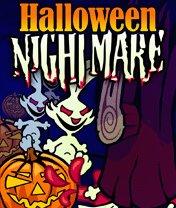 Скачать бесплатно игру Haloween Nightmare - java игра для мобильного телефона. Скачать Кашмарики хеллоуина