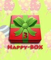 Happy-BOX Скачать бесплатно игру Сборник смс-поздравлений - java игра для мобильного телефона