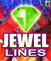 Jewel Lines Скачать бесплатно игру Драгоценные Линии - java игра для мобильного телефона