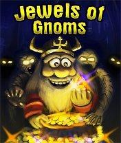 Скачать бесплатно игру Jewels of Gnoms - java игра для мобильного телефона. Скачать Сокровища гномов