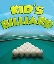 Kids Billiard Скачать бесплатно игру Детский Бильярд - java игра для мобильного телефона