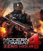 Скачать бесплатно игру Modern Combat 4: Zero Hour - java игра для мобильного телефона. Скачать Новая Битва 4: Решительный час