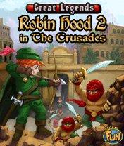Скачать бесплатно игру Robin Hood 2: In the Crusades - java игра для мобильного телефона. Скачать Робин Гуд 2: В крестовых походах