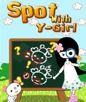 Скачать бесплатно игру Spot With Y-Girl - java игра для мобильного телефона. Скачать Место Y-девочки