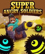 Скачать бесплатно игру Super Angry Soldiers - java игра для мобильного телефона. Скачать Очень злобный солдат