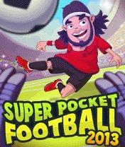 Скачать бесплатно игру Super Pocket Football 2013 - java игра для мобильного телефона. Скачать Супер карманный футбол 2013