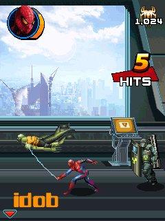 человек паук игра по фильму 3d