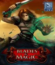 Скачать бесплатно игру Blades and Magic 3D - java игра для мобильного телефона. Скачать Клинок и магия 3D
