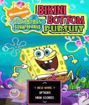 Bob Sponge: Bikini Bottom Pursuit Скачать бесплатно игру Губка Боб: Погоня бикини боттум - java игра для мобильного телефона