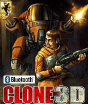 Clone 3D +Bluetooth Скачать бесплатно игру Клон 3D +Bluetooth - java игра для мобильного телефона