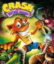 Crash Bandicoot: Mutant Island Скачать бесплатно игру Крэш бандикут: Остров мутантов - java игра для мобильного телефона