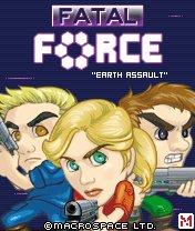 Fatal Force: Earth Assault Скачать бесплатно игру Роковая сила: Нападение на землю - java игра для мобильного телефона