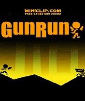 Скачать бесплатно игру Gun Run - java игра для мобильного телефона. Скачать Беги среляй