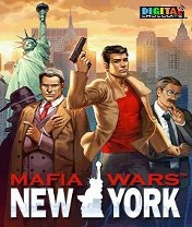Mafia Wars New York Скачать бесплатно игру Войны мафии: Нью-Йорк - java игра для мобильного телефона