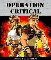 Operation Criticals Скачать бесплатно игру Критическая операция - java игра для мобильного телефона