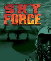 Sky Force Скачать бесплатно игру Сила неба - java игра для мобильного телефона