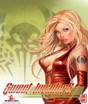 Sweet Invaders Скачать бесплатно игру Сладкие захватчицы - java игра для мобильного телефона