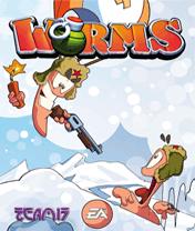 Worms 2010 Скачать бесплатно игру Червячки 2010 - java игра для мобильного телефона