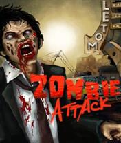 Zombie Attack Скачать бесплатно игру Атака зомби - java игра для мобильного телефона