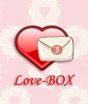 Love-BOX Скачать бесплатно игру Сборник любовных смс-сообщений - java игра для мобильного телефона