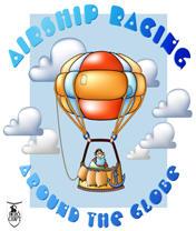 Airship Racing: Around the Globe Скачать бесплатно игру Гонки на шарах: Вокруг Земли - java игра для мобильного телефона