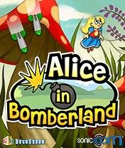 Alice in Bomberland Скачать бесплатно игру Алиса в Бомберленде - java игра для мобильного телефона