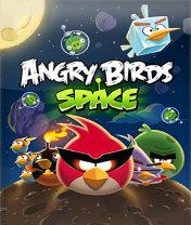 Angry Birds Space Скачать бесплатно игру Злые птицы: Космос - java игра для мобильного телефона
