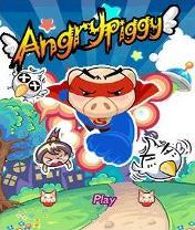 Angry Piggy Скачать бесплатно игру Злые свиньи - java игра для мобильного телефона