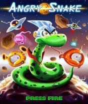 Angry Snake Скачать бесплатно игру Злая змея - java игра для мобильного телефона