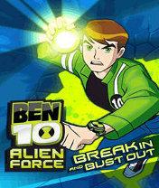 Скачать бесплатно игру Ben 10: Alien Force Break In and Bust - java игра для мобильного телефона. Скачать Бен 10: Чужая сила