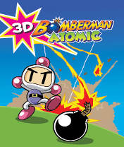 Bomberman Atomic 3D Скачать бесплатно игру Атомный бомбермен 3D - java игра для мобильного телефона