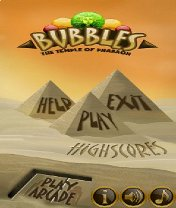 Скачать Bubbles The Temple of Pharaoh бесплатно на телефон Пузыри храма фараона - java игра