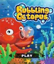 Bubbling Octopus Скачать бесплатно игру Осьминог и пузыри - java игра для мобильного телефона