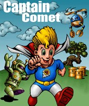 Captain Comet Скачать бесплатно игру Капитан комета - java игра для мобильного телефона