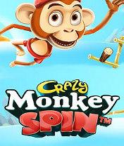 Скачать бесплатно игру Crazy Monkey Spin - java игра для мобильного телефона. Скачать Безумная обезьянка