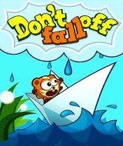 Dont Fall Off Скачать бесплатно игру Не падать - java игра для мобильного телефона
