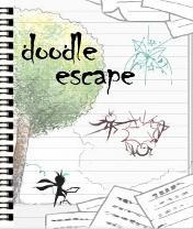 Doodle Escape Скачать бесплатно игру Побег дудла - java игра для мобильного телефона