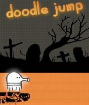 Doodle Jump Halloween Скачать бесплатно игру Прыгающие человечки: Хеллоуин - java игра для мобильного телефона