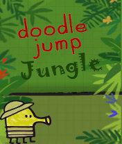Doodle Jump: Jungle Скачать бесплатно игру Прыгающие человечки: Джунгли - java игра для мобильного телефона