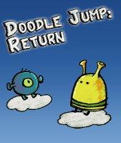 Doodle Jump: Return Скачать бесплатно игру Прыгающие человечки: Возвращение - java игра для мобильного телефона