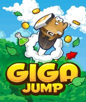 Giga Jump Скачать бесплатно игру Мощный прыжок - java игра для мобильного телефона