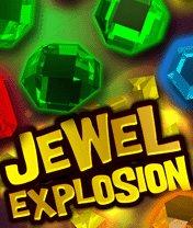 Скачать бесплатно игру Jewel Explosion - java игра для мобильного телефона. Скачать Взрыв самоцветов