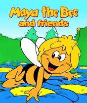 Maya The Bee and Friends Скачать бесплатно игру Пчелка майя и ее друзья - java игра для мобильного телефона